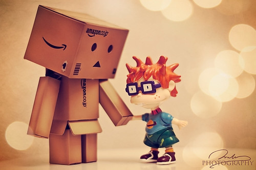 [250-365] Danbo has a new friend :)