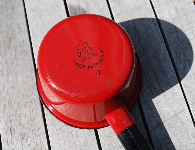 Reda Poland  city photo : Red Enamel Pot Made in Poland | Flickr Photo Sharing!