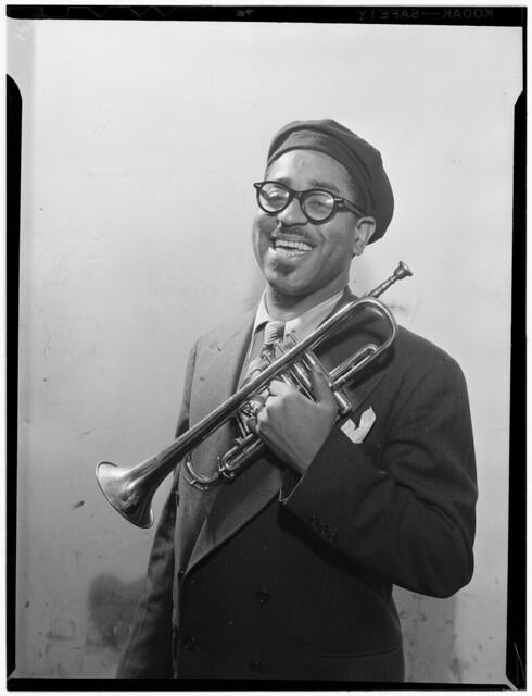 [Portrait of Dizzy Gillespie, New York, N.Y., ca. May 1947] (LOC)