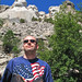 Me under Mount Rushmore National Memorial by *Checco*