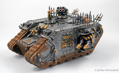 Iron Warriors Landraider