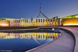 Canberra Blue Hour