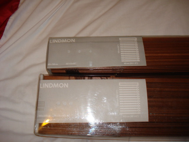 new lindmon ikea wooden blinds 25 for both o n o flickr photo sharing. Black Bedroom Furniture Sets. Home Design Ideas