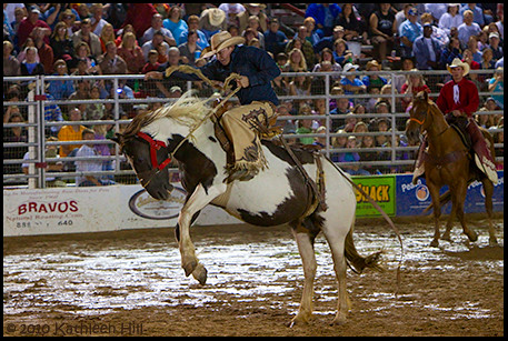 Cowtown Rodeo Bronco Riding