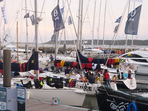 The JOG Fleet tied up in Poole & drying off