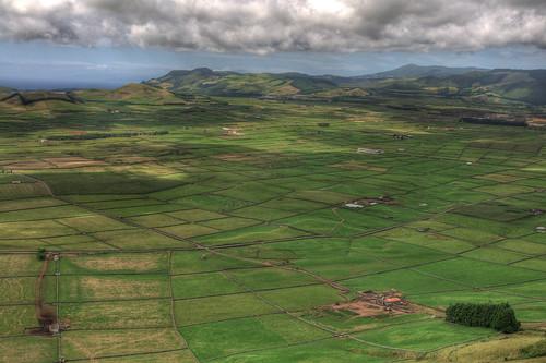 green portugal landscape hdr terceira azores açores serradocume azores2010