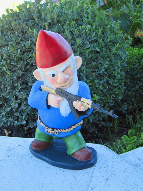 Combat Garden Gnomes 006 Flickr Photo Sharing