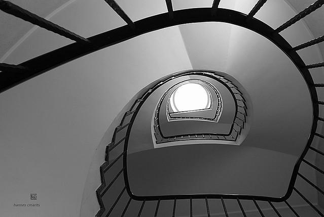 stairs II bw