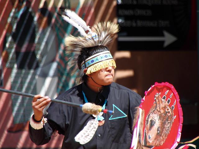 Indian Pueblo Cultural Center Dancer 2
