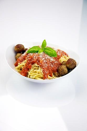 Spaghetti with Meatballs 01
