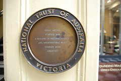 Photo of Charles Webb bronze plaque