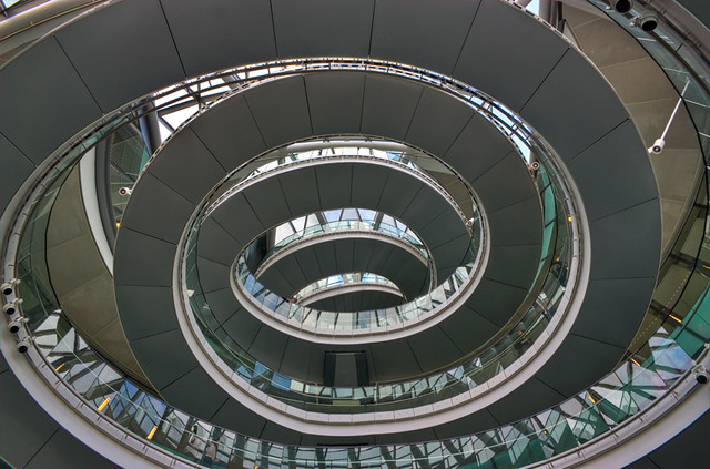 London city hall spiral stairs 7 flickr photo sharing for Square spiral staircase plans hall