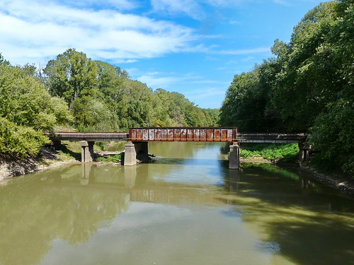 railroad bridge river tennessee rusty dyercounty obioncounty obionriver