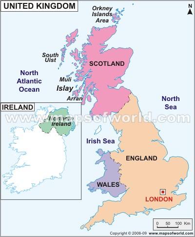 United Kingdom Political Map A Photo On Flickriver - Political map of united kingdom
