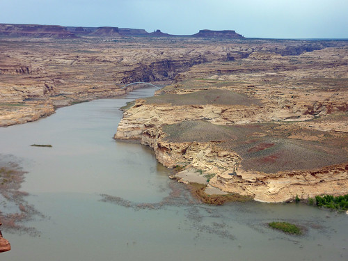 View of Lake Powell from the Hite Overlook
