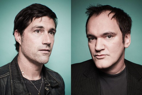 Matthew Fox and Quentin Tarantino | 2010