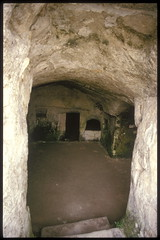 temple(0.0), crypt(0.0), arch(1.0), ancient history(1.0), formation(1.0), air-raid shelter(1.0), cave(1.0),
