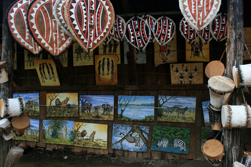 Souvenir Shop in Kenya