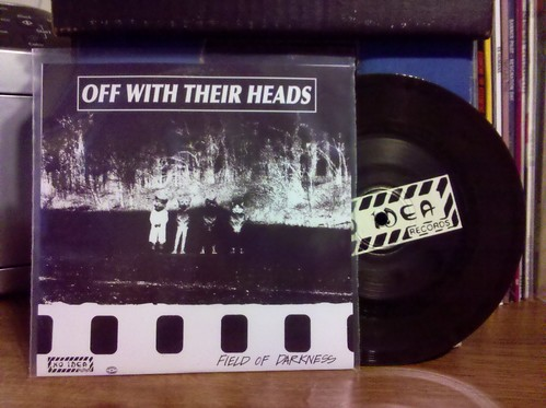 "Off With Their Heads / No Friends - Split 6"" - Dark Green Vinyl"