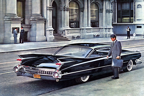 1959 ... big fin caddy!
