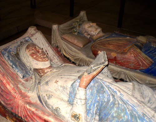 Eleanor of Aquataine & Henry II - Fontevraud Abbey, Loire valley, France