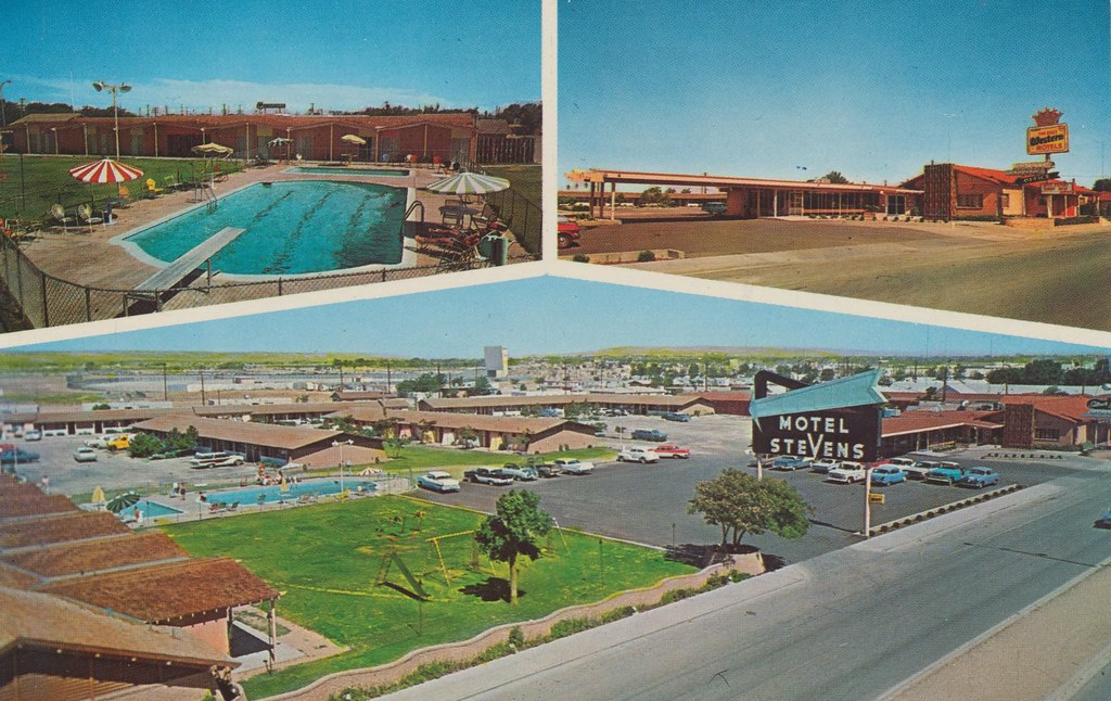 Carlsbad New Mexico - Motel Stevens - Carlsbad, New Mexico