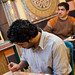 Small photo of Mohammed and Abid working