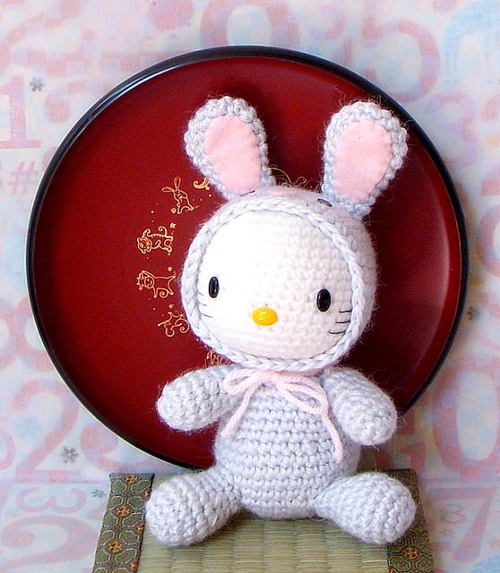 Amigurumi Zodiac Patterns : Zodiac Rabbit-Kitty version-amigurumi Flickr - Photo ...