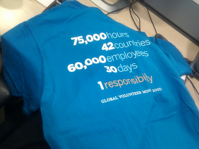 Global Volunteer Month @Morgan Stanley