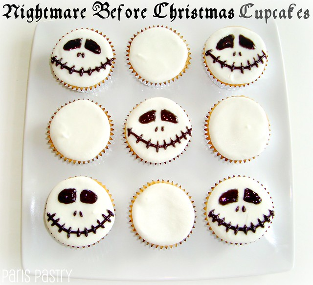Nightmare Before Christmas Cupcakes