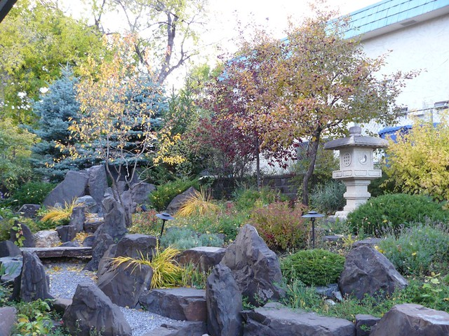 Rock garden at Calgary Japanese Community Association | Flickr ...