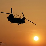 Royal Air Force Chinook Helicopter