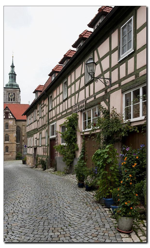 Elevation of gre elgrund maroldsweisach germany maplogs for Fachwerk winkel