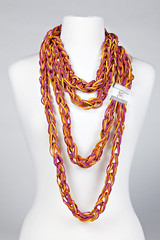 orange, pattern, chain,