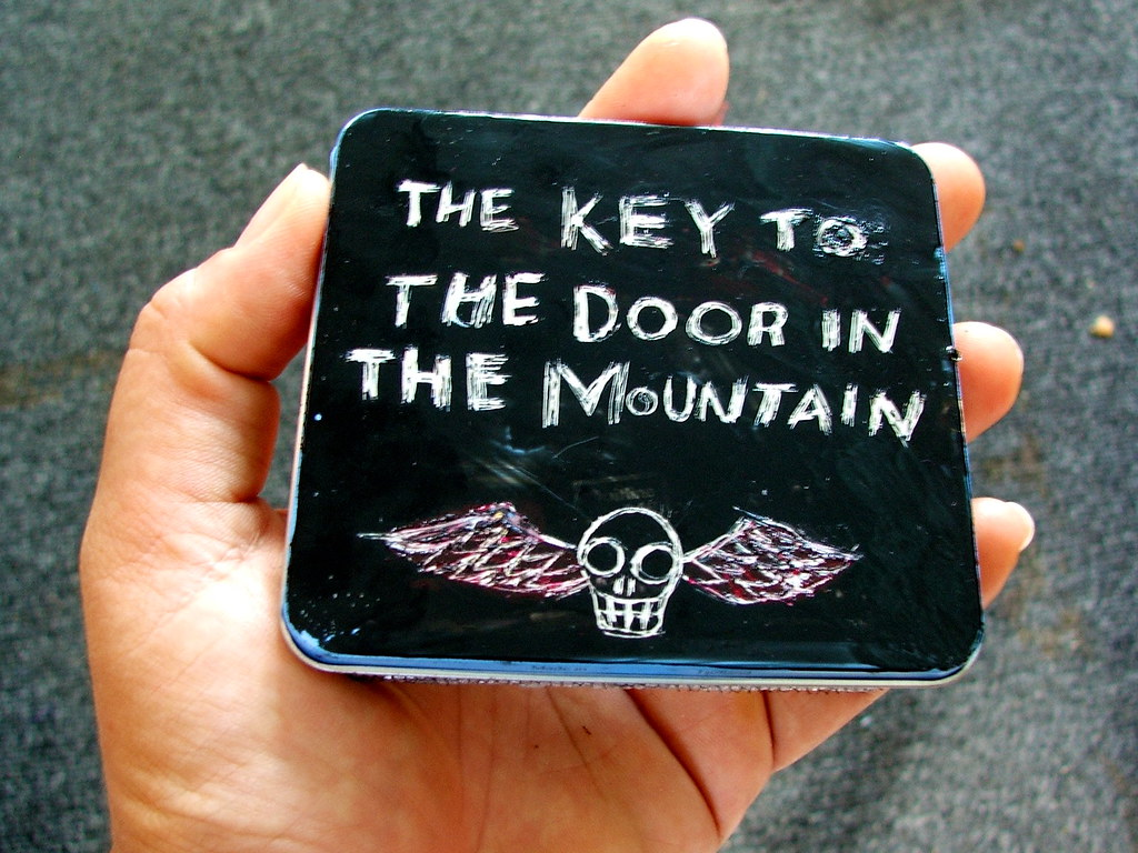 the key to the door in the mountain