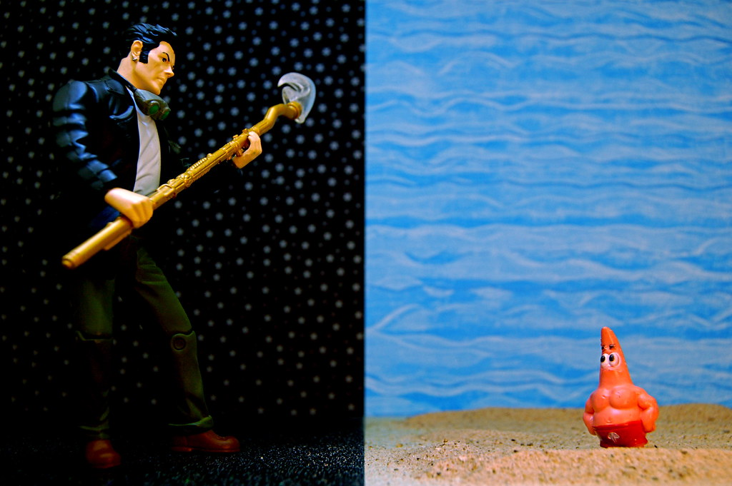 Starman vs. Patrick Star (279/365)