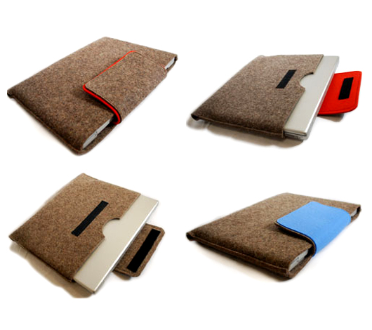 Laptop sleeves by The Felt Store