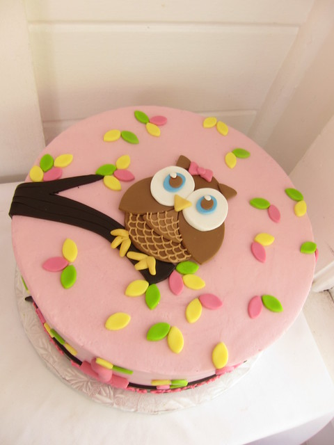 birthday cakes owls