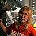 Grace Randolph in the Marvel Live skybox | NY Comic Con, Sept 9 by Moth