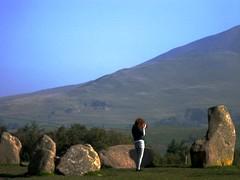 Viv Shooting at Castlerigg Stone Circle