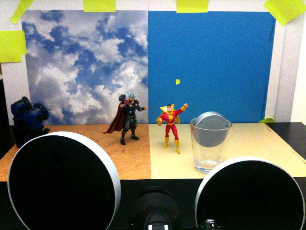Thor vs. Captain Marvel Setup