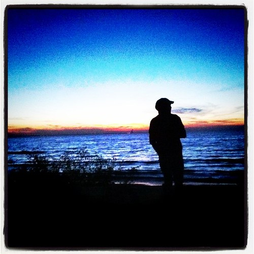 sunset lake silhouette square island lakeerie squareformat catawbaisland iphoneography instagramapp uploaded:by=instagram