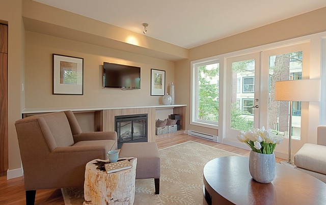 Townewalk Homes - Living Room
