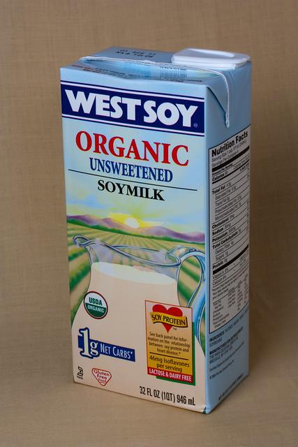 West Soy Organic Soy Milk
