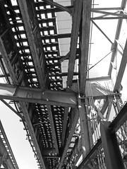 Queensboro Bridge Walkway - beneath the Tracks