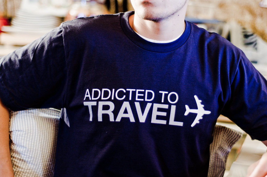 Addicted To Travel Tee