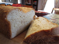 breakfast, baking, beer bread, bread, rye bread, baked goods, ciabatta, food, brown bread, cuisine, sliced bread, sourdough,
