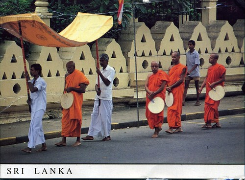 Postcard I Received From Sri Lanka