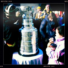 Timmy's & the Stanley Cup - can it get any more Canadian? #SHDiC