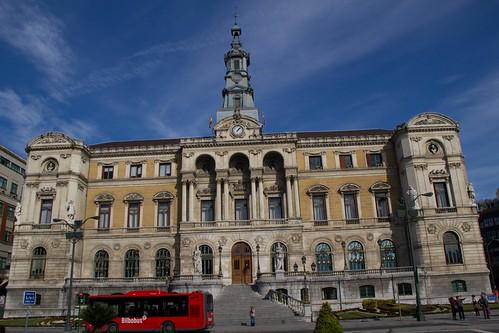 Edificio principal del Ayuntamiento de Bilbao